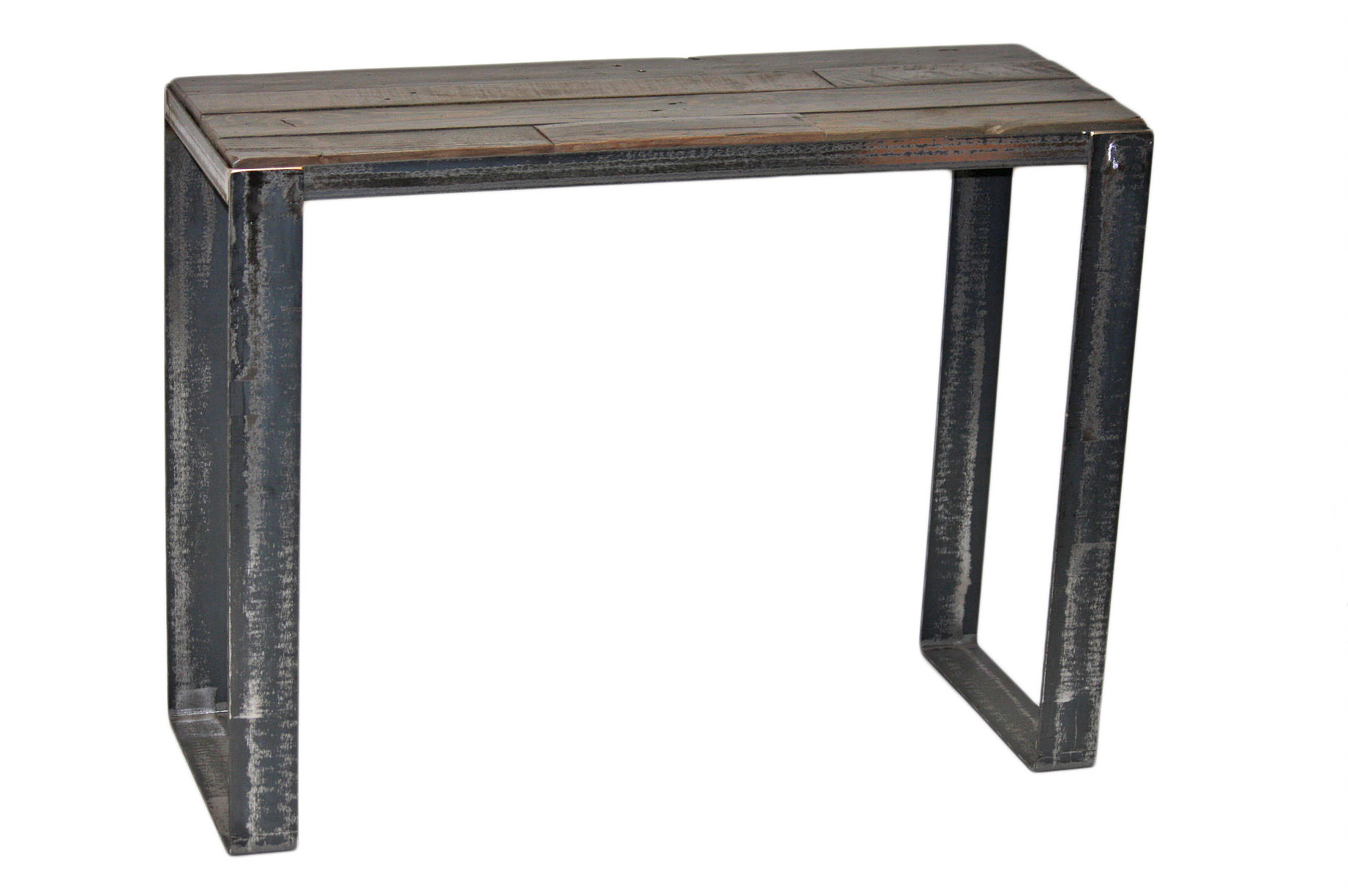 table console collection manchester bois recycl et m tal meubles sgl. Black Bedroom Furniture Sets. Home Design Ideas